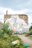 Mural in Kreuzberg, Berlin Royalty Free Stock Photo