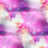 Mural lilac, yellow, purple background  seamless Royalty Free Stock Photos
