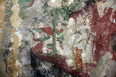 Mural. LMural wallpaper Traditional Culture Thailand Stock Image