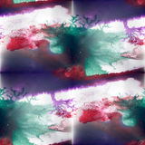 Mural marsh, lilac, red seamless pattern Royalty Free Stock Photography