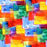 Mural multicolored squares background background seamless patter Stock Photos