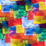 Mural multicolored squares background seamless stock illustration