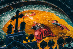 Mural in Orthodox church Royalty Free Stock Photos