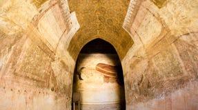 Mural painting in Bagan Stock Photos