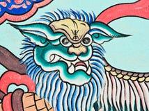 Mural painting Stock Photo