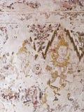 Mural paintings at Wat Yai Suwannaram Stock Photography