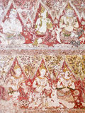 Mural paintings at Wat Yai Suwannaram Royalty Free Stock Image