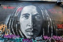 Mural of Bob Marley Royalty Free Stock Photography