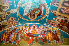 Mural religious paintings Royalty Free Stock Photo