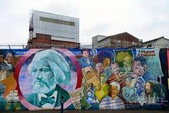 Mural republicano, Belfast, Irlanda del Norte Imagen de archivo