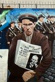 Mural republicano, Belfast, Irlanda del Norte Foto de archivo libre de regalías