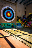 Mural in Richmond, Virginia. Artistic Mural in Richmond, Virginia stock photography