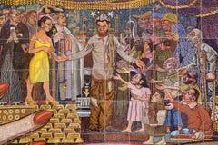 mural rivera του Diego Στοκ εικόνα με δικαίωμα ελεύθερης χρήσης