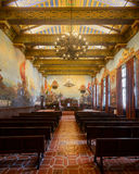 Mural Room. At the Santa Barbara County Courthouse on Anacapa Street in Santa Barbara, California Stock Photos