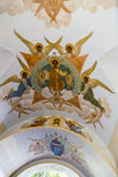 The mural in sam sergei abbey,russian federation Stock Photo