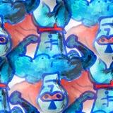 Mural seamless Batman pattern background texture Royalty Free Stock Photo