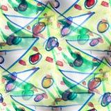 Mural seamless  pattern fir-tree background. Mural background seamless  pattern fir-tree background texture wallpaper shadow Stock Photos