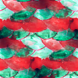 Mural semicircle seamless pattern background Royalty Free Stock Photo