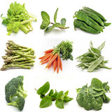 Mural of several vegetables Royalty Free Stock Photo