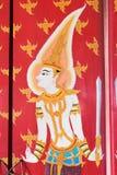 Mural tailandés Imágenes de archivo libres de regalías