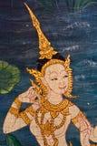 Mural tailandés del estilo Imagen de archivo