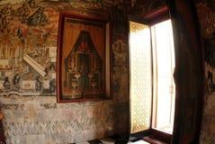 Mural in Thai Church. Stock Image