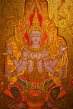 Mural in thailand Royalty Free Stock Images