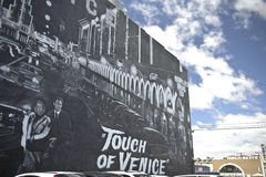 Mural in Venice in California Royalty Free Stock Images