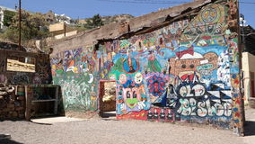 Mural Wall Royalty Free Stock Photo