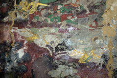 Mural. Wallpaper Traditional Culture Thailand Stock Image