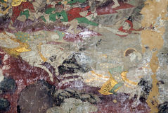 Mural. Wallpaper Traditional Culture Thailand Stock Photos