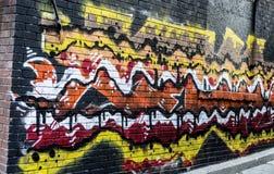 Murale della via di Toronto fotografia stock