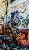 Murale della via di Toronto immagine stock