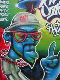 Murale a MOS Thailand 2018 fotografie stock libere da diritti