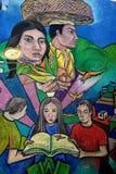 Murale nella città di Guanajuato, Messico Immagine Stock Libera da Diritti