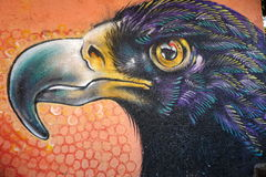 Murale nella città di Guanajuato, Messico Fotografie Stock Libere da Diritti