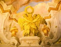 Murale sulla parete immagine stock