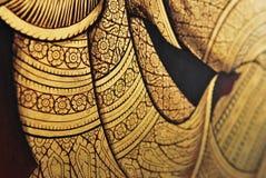 Murale tailandese immagine stock