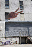 Murale a Williamsburg orientale a Brooklyn fotografie stock