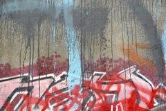 Murales в Ванкувере, Британской Колумбии Канаде Стоковое Изображение RF