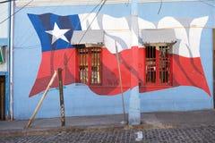 Murales в Вальпараисо, Чили Стоковое фото RF