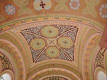 Murales de la iglesia Fotografía de archivo