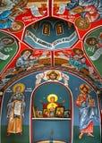 Murales de la iglesia Foto de archivo libre de regalías