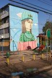 Murales de San Miguel Foto de archivo libre de regalías