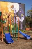 Murales de San Miguel Imagenes de archivo