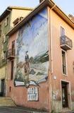 Murales de Sardinia Imagem de Stock