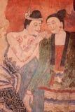 Murales de Tailandia Imágenes de archivo libres de regalías
