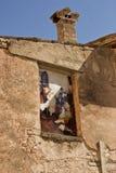 Murales em Italia foto de stock