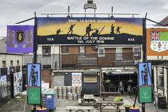 Murales en Belfast Fotografía de archivo