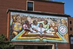 Murales en Chicago foto de archivo libre de regalías